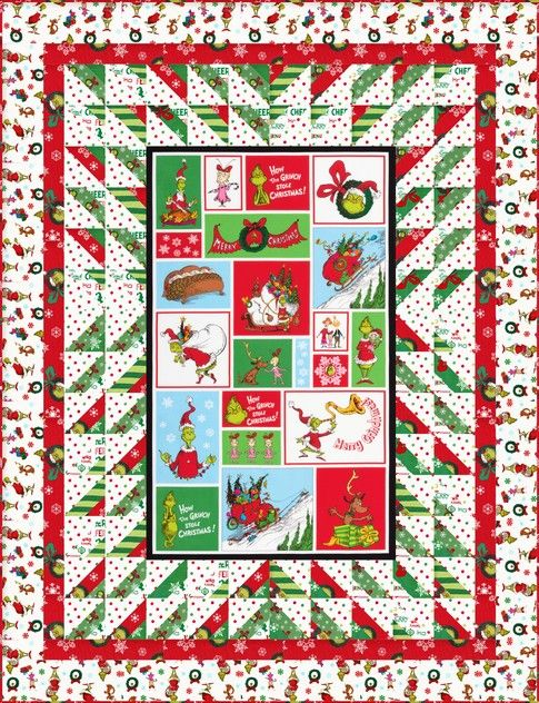 630 best Quilts Panel Quilts images on Pinterest | At home, Colors ... : christmas quilting panels - Adamdwight.com