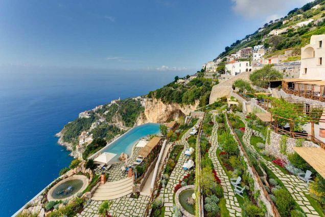 Monastero Santa Rosa, Conca dei Marini, Italy - Beautiful Cliff Top Hotels