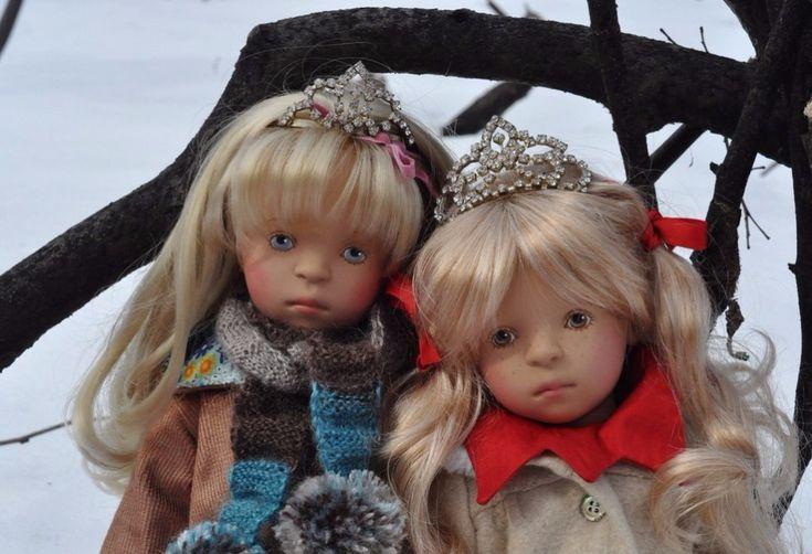 У принцессы есть сестра. Коллекционная кукла Sylvia Natterer для Zwergnase / Sylvia Natterer, Сильвия Наттерер. Коллекционно-игровые куклы / Бэйбики. Куклы фото. Одежда для кукол