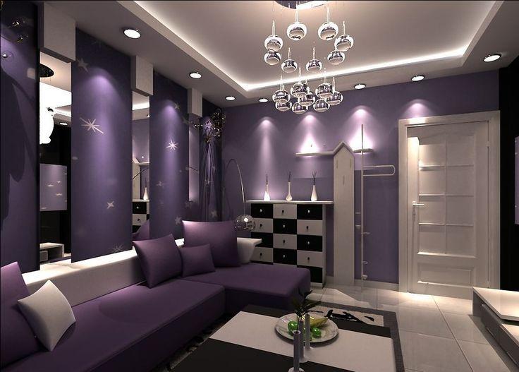 Purple Living Room Ideas: 17 Best Ideas About Purple Living Rooms On Pinterest