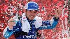 Apr.29 2017 - Larson takes second Xfinity victory of season Kyle Larson took the lead with only a handful of laps to go when race leader Ty Dillon jumped a restart and won the NASCAR Xfinity race in overtime at Richmond International Raceway on Saturday Kyle Larson, The Canadian Press