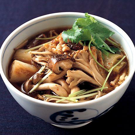 きのこ南蛮そば | 植松良枝さんのそばの料理レシピ | プロの簡単料理レシピはレタスクラブニュース