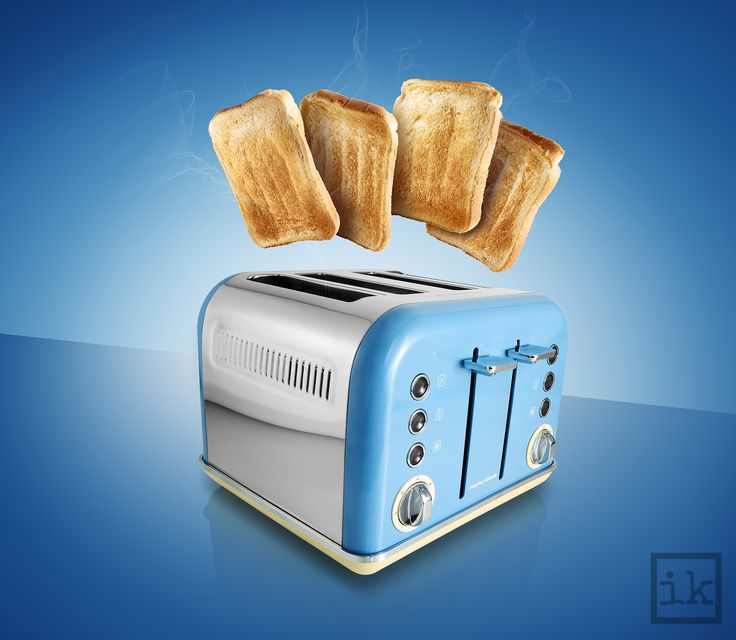 Morphy Richards toaster - Creative advertising photography