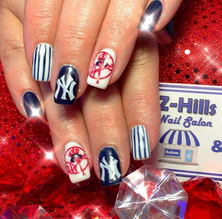 #nails  #gelish #Kiarasky #zhills #zephyrhills #zhillsnailsalon #zhillsmobilemanipedi #zhillsnailsalonandmobilemanipedi #wesleychapel #dadecity #nailsalon #nails #nailsdid #oceannailsupply #gelish #yankeesnails #yankees