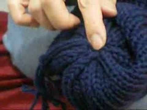 How to cast off on your circular knitting machine - YouTube