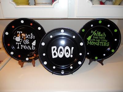 Summerhouse Cottage: Halloween Plates
