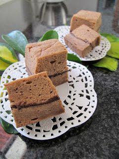 Kreasi Dapur Iis Sukendar: Mocca Brownies Kukus Putih Telur