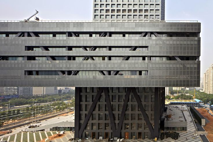 Shenzhen Stock Exchange | China | OMA/Rem Koolhaas | photo by Philippe Ruault