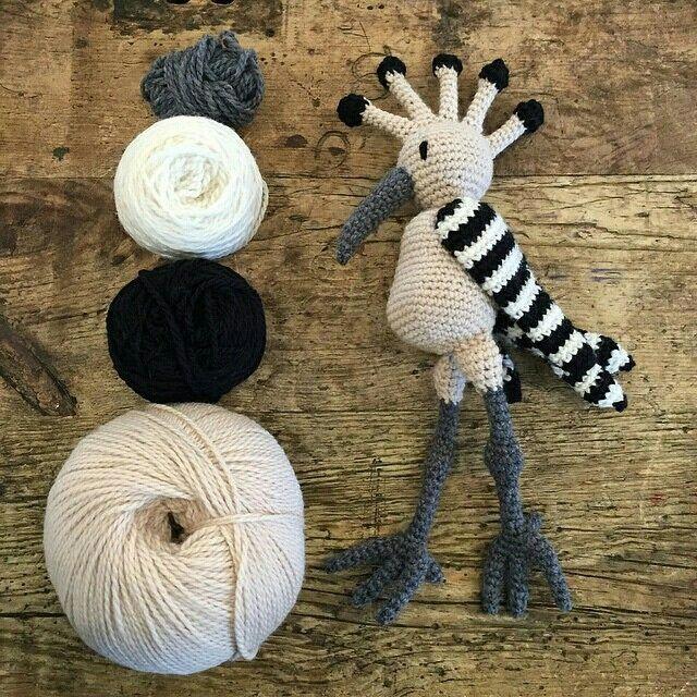 TOFT alpaca crochet amigurumi toy bird