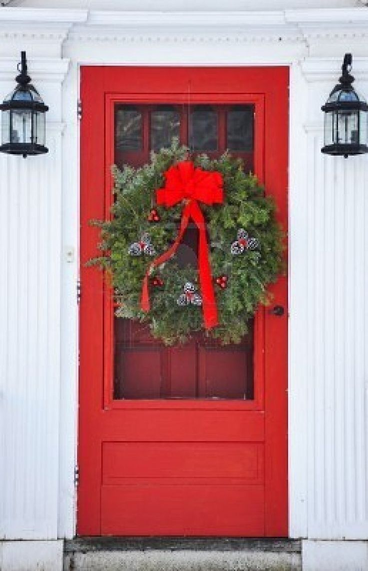 Our Home Decorations Christmas Door Decal Wall or