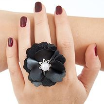 DIY Advent 4: Leather Flower Ring Page 3 Dana's Fashion Blog