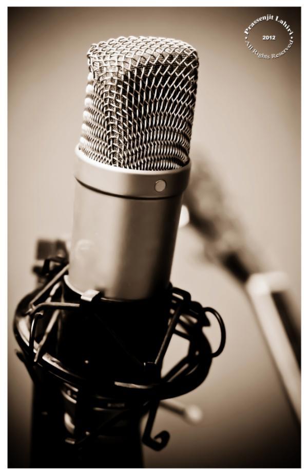 @prassenjit Recording with @rodemics today :)