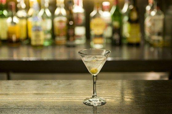Коктейль мартини