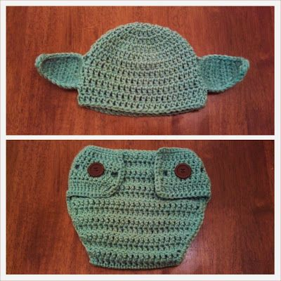 Butterfly's Creations: Yoda Beanies. FREE pattern for all ...