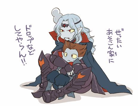 Vampire and Vampire Lord - Puzzle and Dragons