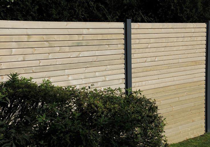 21 best Palissade images on Pinterest Close board fencing, Decks - paroi anti bruit exterieur
