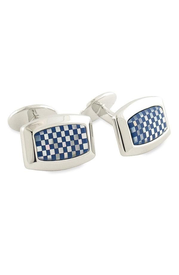 Details matter: David Donahue cuff Links