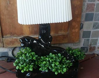 Black Panther TV Lamp and Planter