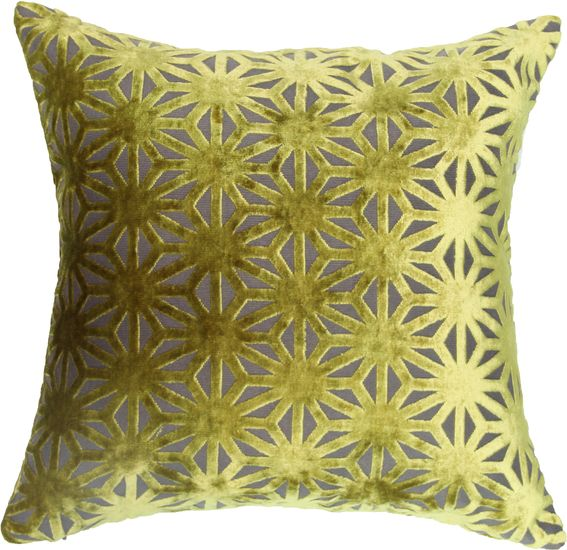 The Geo Diamond Toss Cushion - Chartreuse from Urban Barn is a unique home decor item. Urban Barn carries a variety of Pillows and other  products furnishings.
