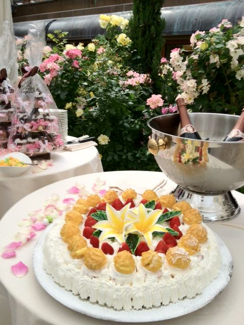 Torta classica Creme  Saint Honorè