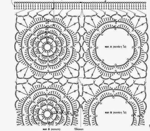 Blusa elegante tejida al crochet y horquilla | Crochet y Dos agujas