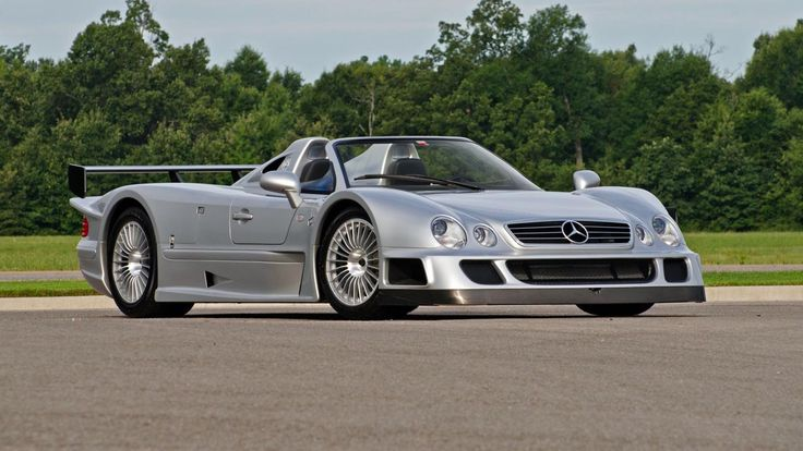 One-of-six Mercedes-Benz CLK-GTR roadster goes up for auction