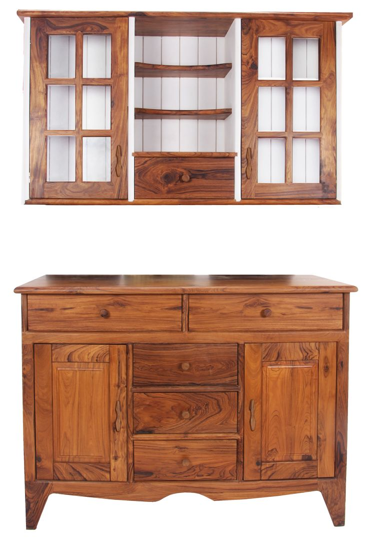 wooden furniture for kitchen. Two Part Cutlery Unit Kitchen Cabinet Made With Teakwood Wood Wooden Furniture For H