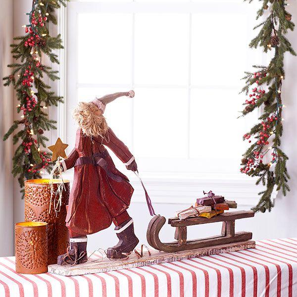 29 Best Images About Wooden Santas On Pinterest Ebay