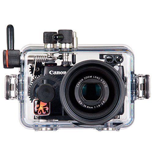 Ikelite 6146.07 Underwater Camera Housing for Canon G7X Digital Camera
