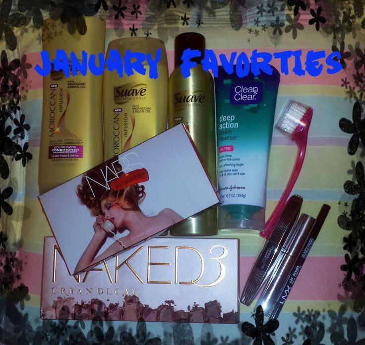 January Favorites 2014 #beauty #makeup #tutorial #january #monthlyfavorites #favorites