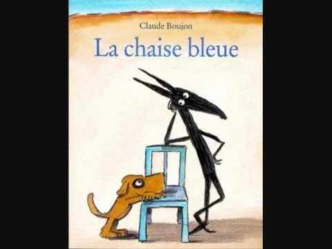 """Chanson pour enfant inspirée de l'album de littérature enfantine """"La chaise bleue"""" deClaude Boujon"""
