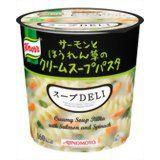 クノール クノールスープDELI サーモンとほうれん草のクリームスープパスタ 6個セット    timein.jp