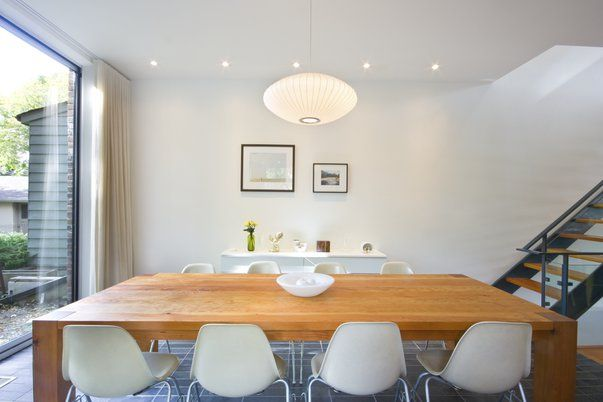 house in riverdale - dining room by mazen studios