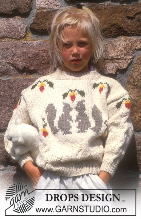 free knitting pattern for children s sweater with squirrel