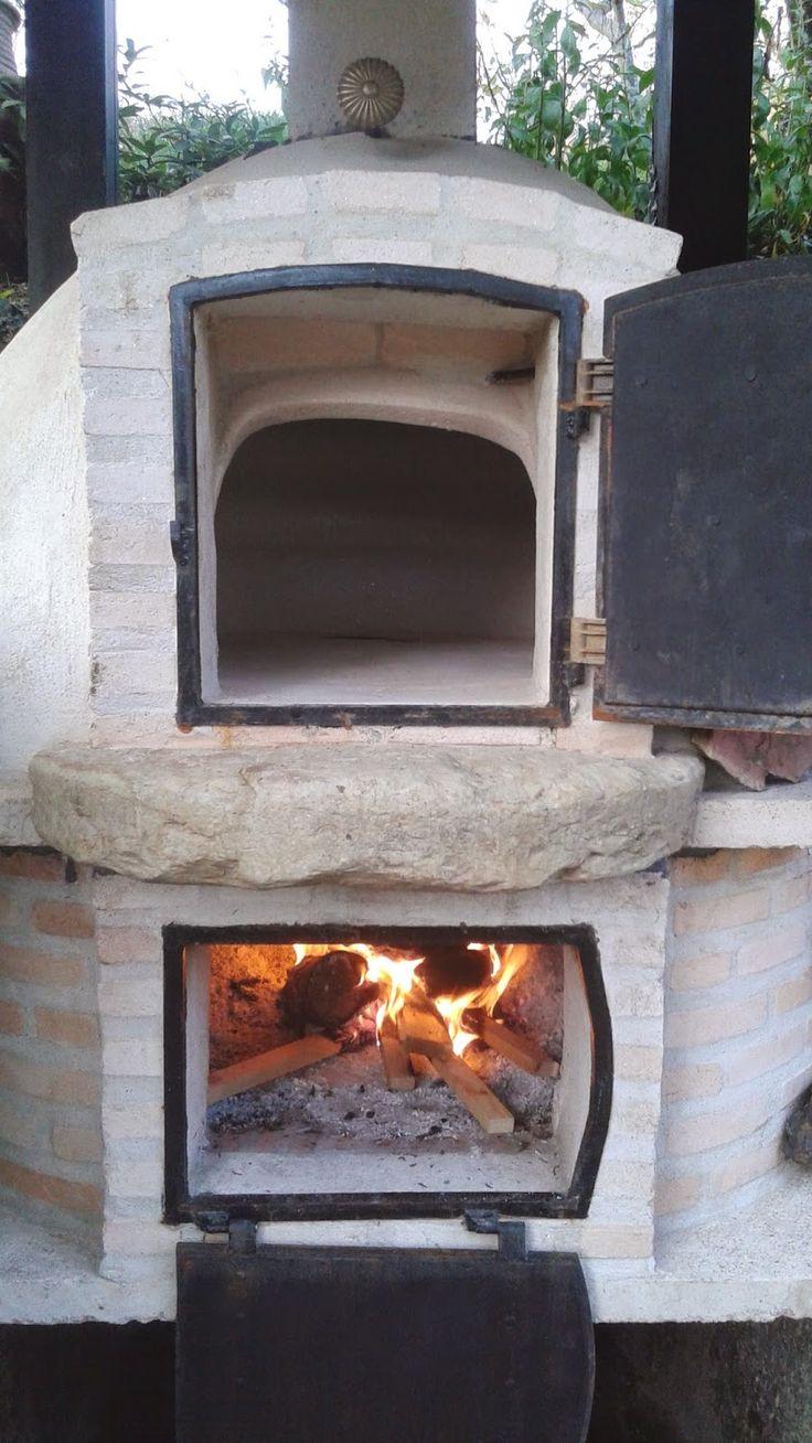 Alfareria madrid horno de barro calor envolvente horno for Horno de lena con hornilla