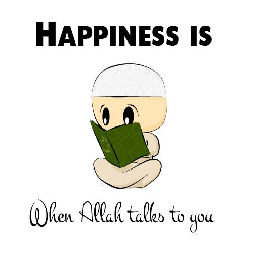 Happiness Originally found on: islamicquotes11