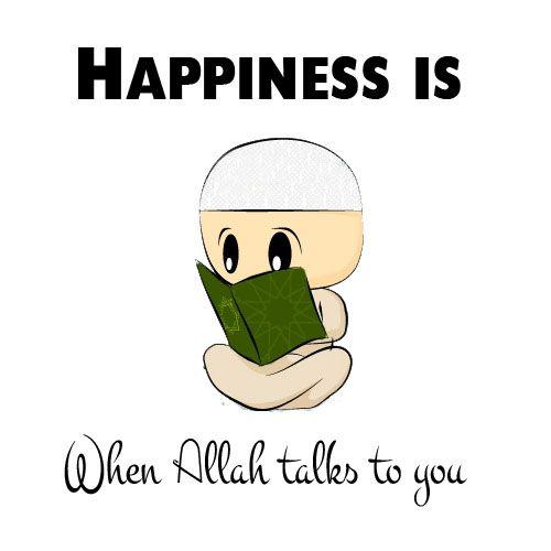Happiness Originally found on: islamicquotes11