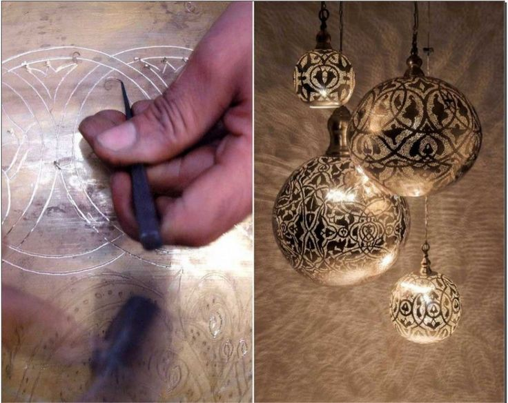 Herstellung Zenza Lampen