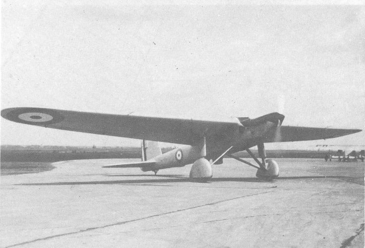 Fairey Long Range Monoplane (1928) The Fairey Long-range Monoplanes were a pair of British experimental aircraft. The first one has flown from England to Karachi in 1929 in an attempt to set a new world record. The distance was short of the world records. It crashed in Tunisia later same year en route to S.Africa. The second aircraft successfully set a new world record in 1933