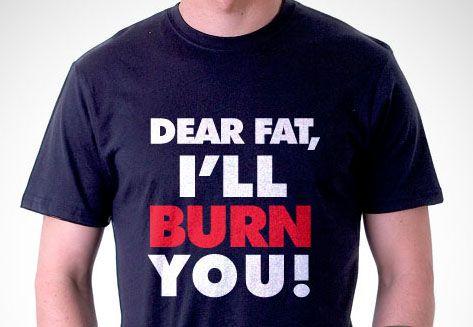 Fat Burn T-Shirt in black by L-Men http://zocko.it/LB61g