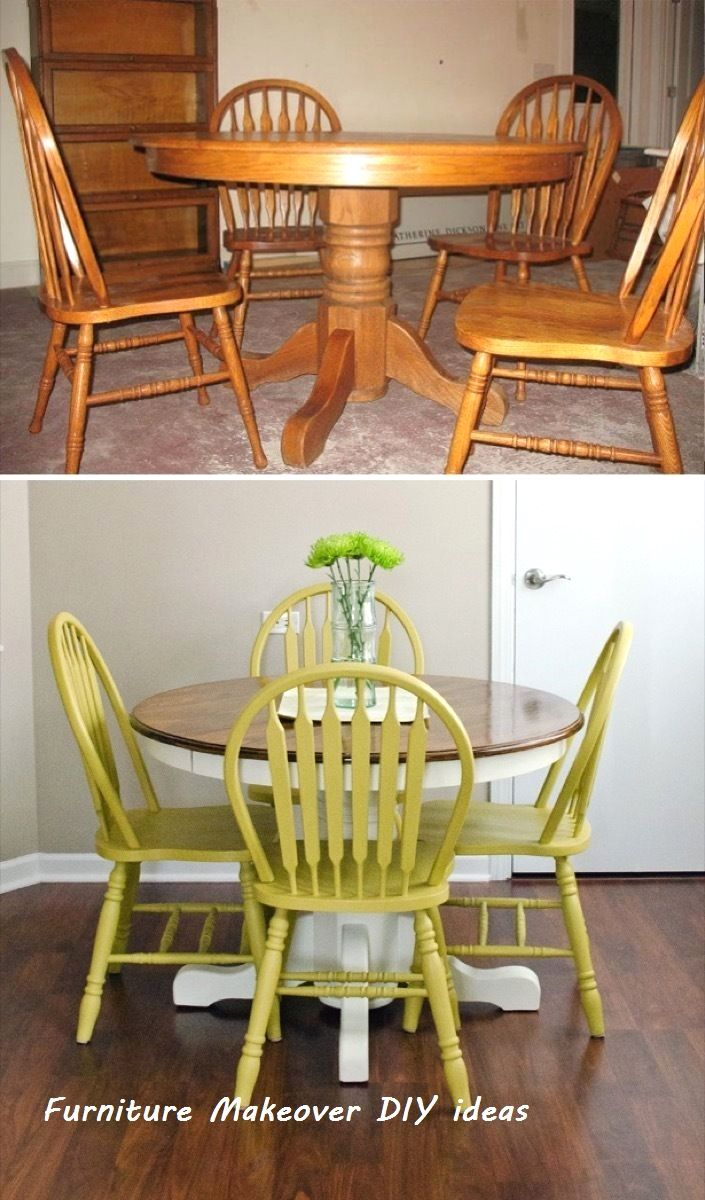 "67 Furniture ""Before and Afters"" That'll Totally…"