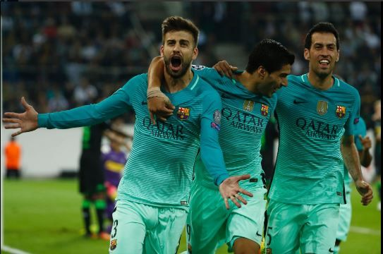 Borussia M'gladbach 1-2 FC Barcelone