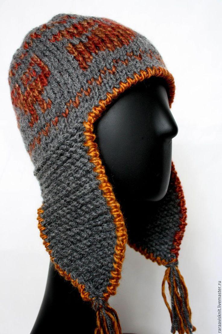 Купить Шапка, вязаная шапка женская мужская Чулло серая - вязаная шапка, подарок, подарок для нее