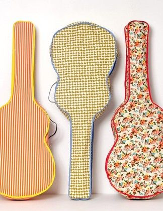 Girly guitar cases :)