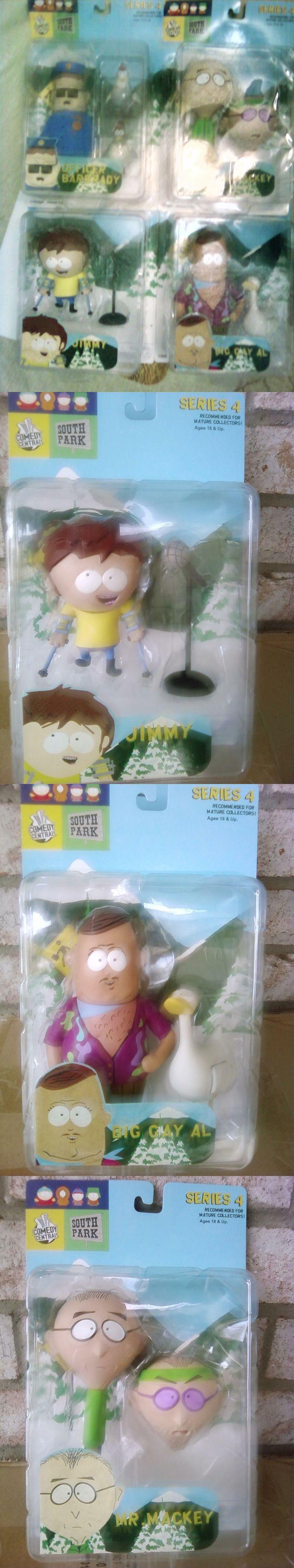 South Park 20918: South Park Series 4 Mr. Mackey,Big Gay Al, Officer Barbrady, Jimmy Set 4 Figure -> BUY IT NOW ONLY: $74.95 on eBay!