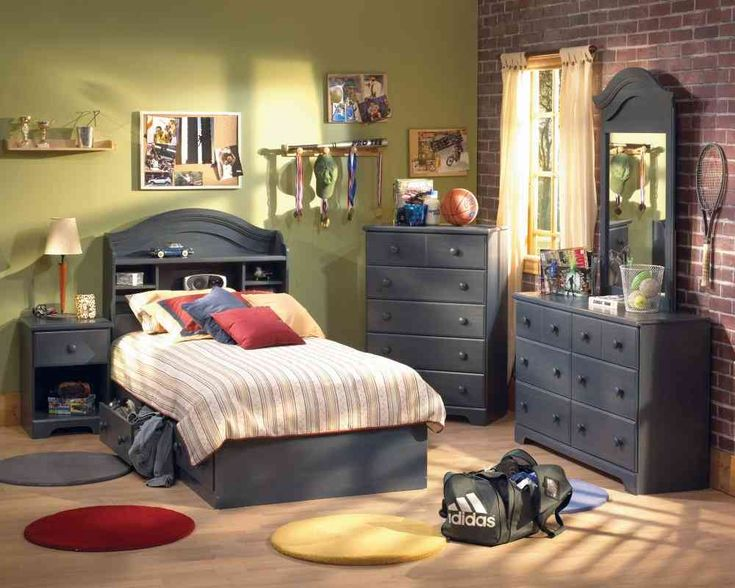 Kids Bedroom Furniture Set In Blueberry   South Shore Furniture   Top Price