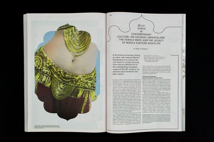 Mousse Magazine #53 ~ #bellydancing #marthakirszenbaum #art #contemporaryart #magazine #moussemagazine