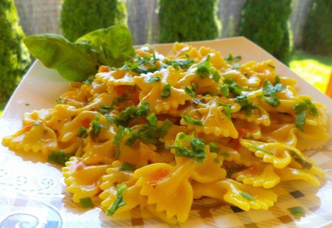 Spenótos tészta Kandi konyhájából