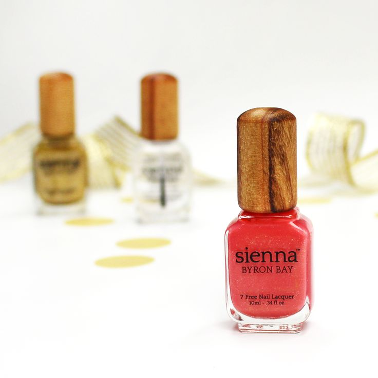 Looking for a high-performing toxin-free nail brand? Aussie brand Sienna Byron Bay is our pick for their great colour range and eco-friendly, vegan and toxin-free credentials. Don't miss our exclusive Valentine's Day Gift With Purchase (while stocks last) <3