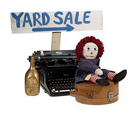 Organizing a Garage Sale: Planning for a garage sale can be done in a few easy steps.
